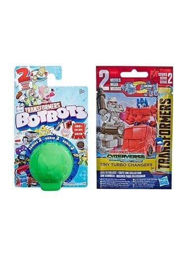 Hasbro Transformers Botbots Sürpriz Paket + Cyberverse Turbo Changers Sürpriz Paket Seri 2 Renkli